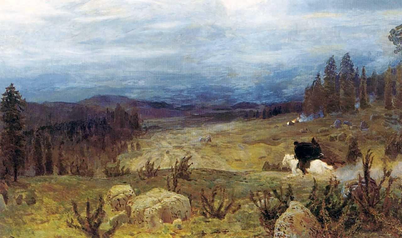 Сибирь — Васнецов Аполлинарий Михайлович