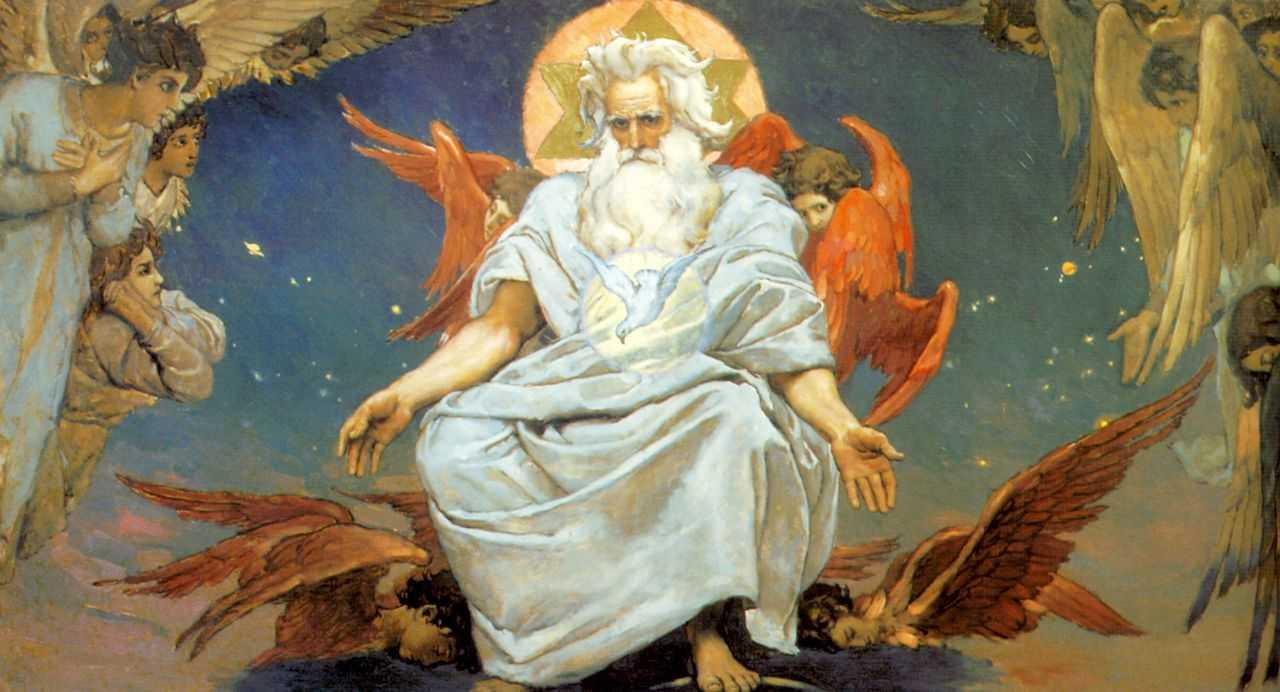 Бог Саваоф — Васнецов Виктор Михайлович