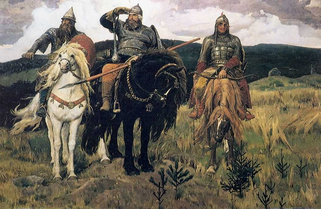 Богатыри — Васнецов Виктор Михайлович