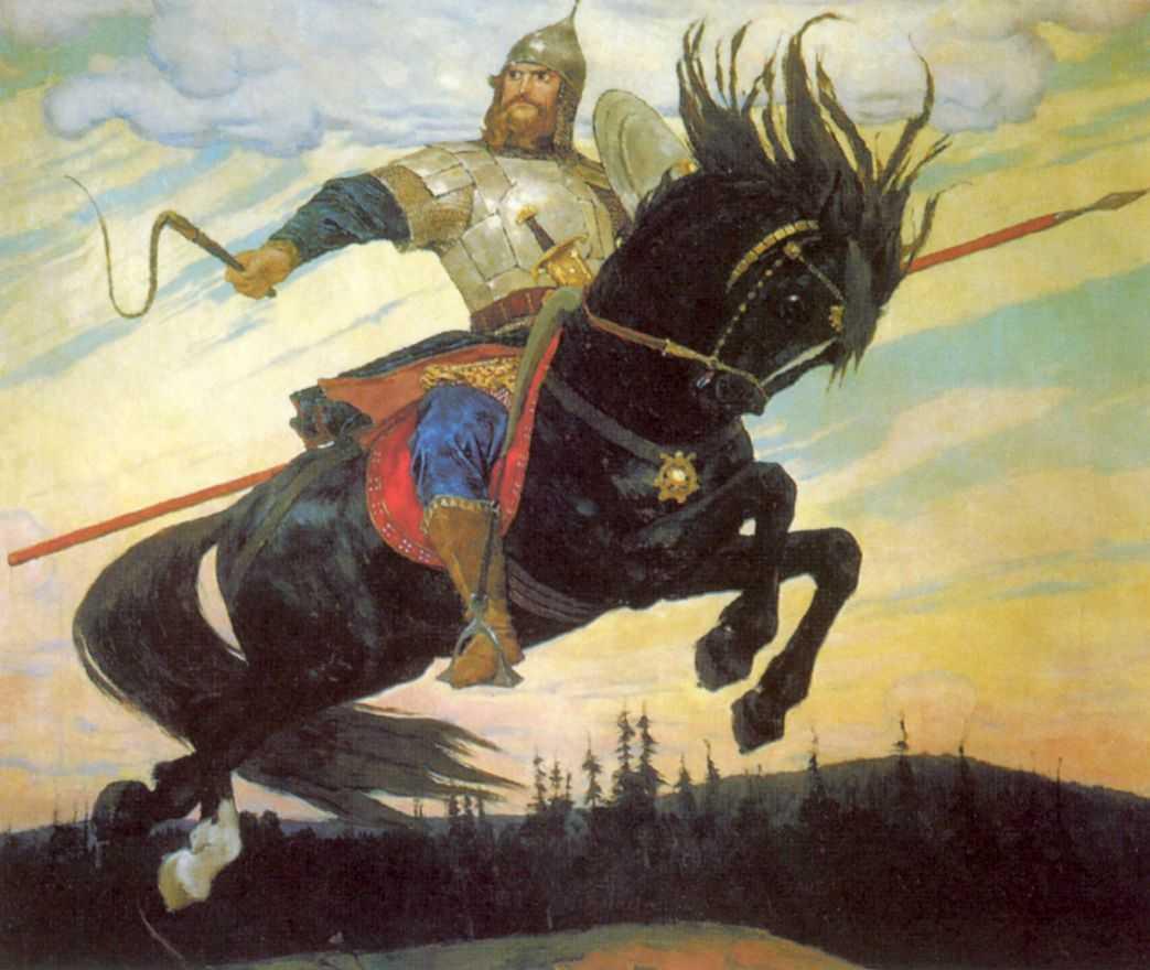 Богатырский скок — Васнецов Виктор Михайлович