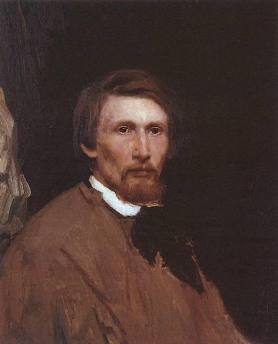 Автопортрет. 1873г — Васнецов Виктор Михайлович