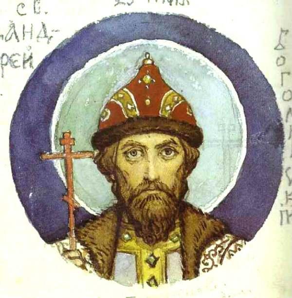 Князь Андрей Боголюбский — Васнецов Виктор Михайлович