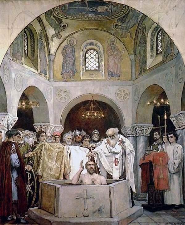Крещение князя Владимира — Васнецов Виктор Михайлович
