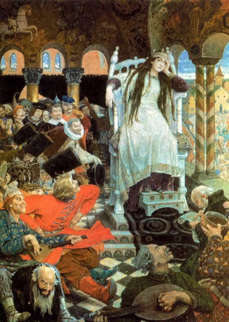 Несмеяна-царевна — Васнецов Виктор Михайлович