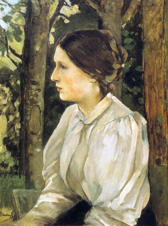 Портрет Т.В.Васнецовой. Дочери художника — Васнецов Виктор Михайлович
