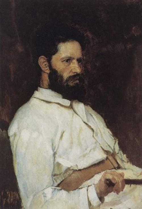 Портрет скульптора Марка Матвеевича Антокольского — Васнецов Виктор Михайлович