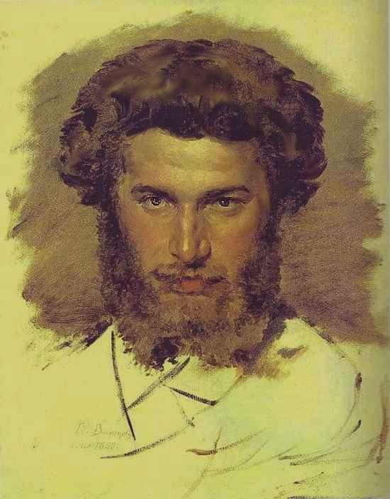 Портрет художника А.И.Куинджи — Васнецов Виктор Михайлович