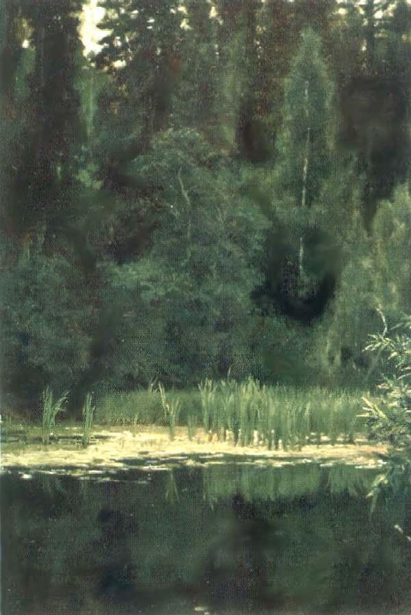 Алёнушкин пруд ( Пруд в Ахтырке ). — Васнецов Виктор Михайлович
