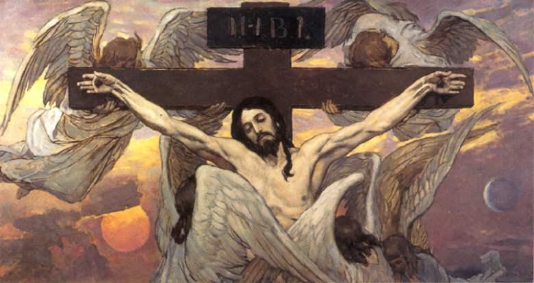 Распятый Иисус Христос — Васнецов Виктор Михайлович