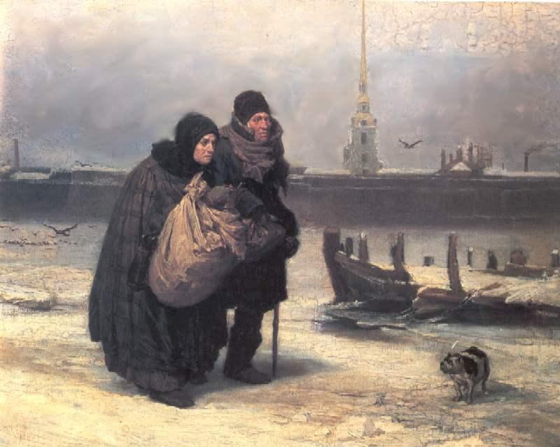 С квартиры на квартиру — Васнецов Виктор Михайлович