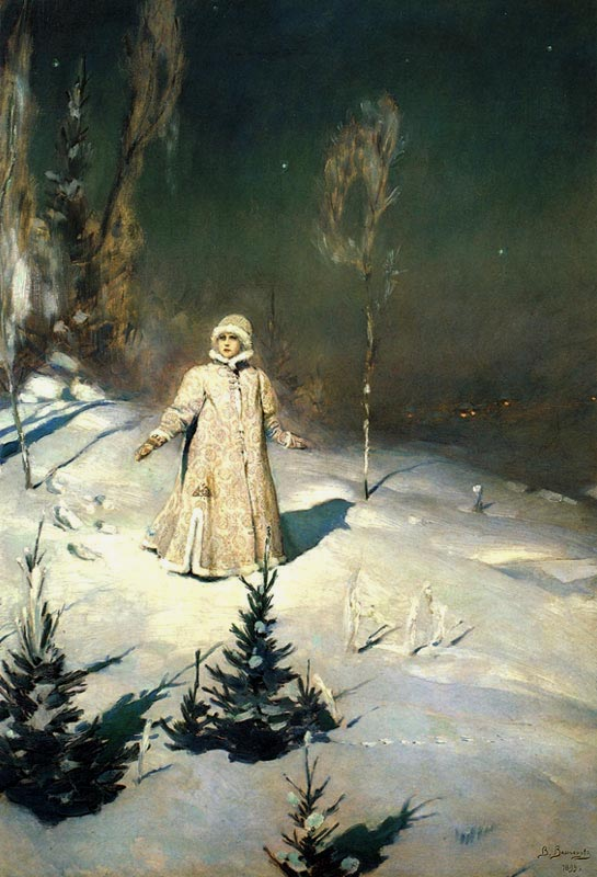 Снегурочка — Васнецов Виктор Михайлович