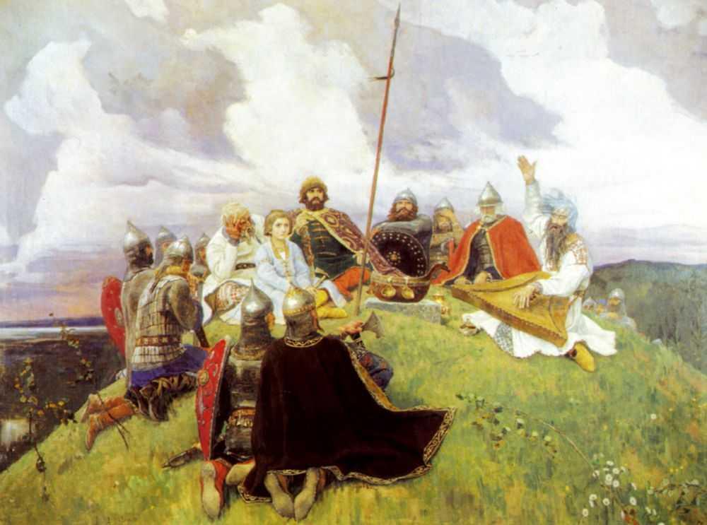 Баян — Васнецов Виктор Михайлович