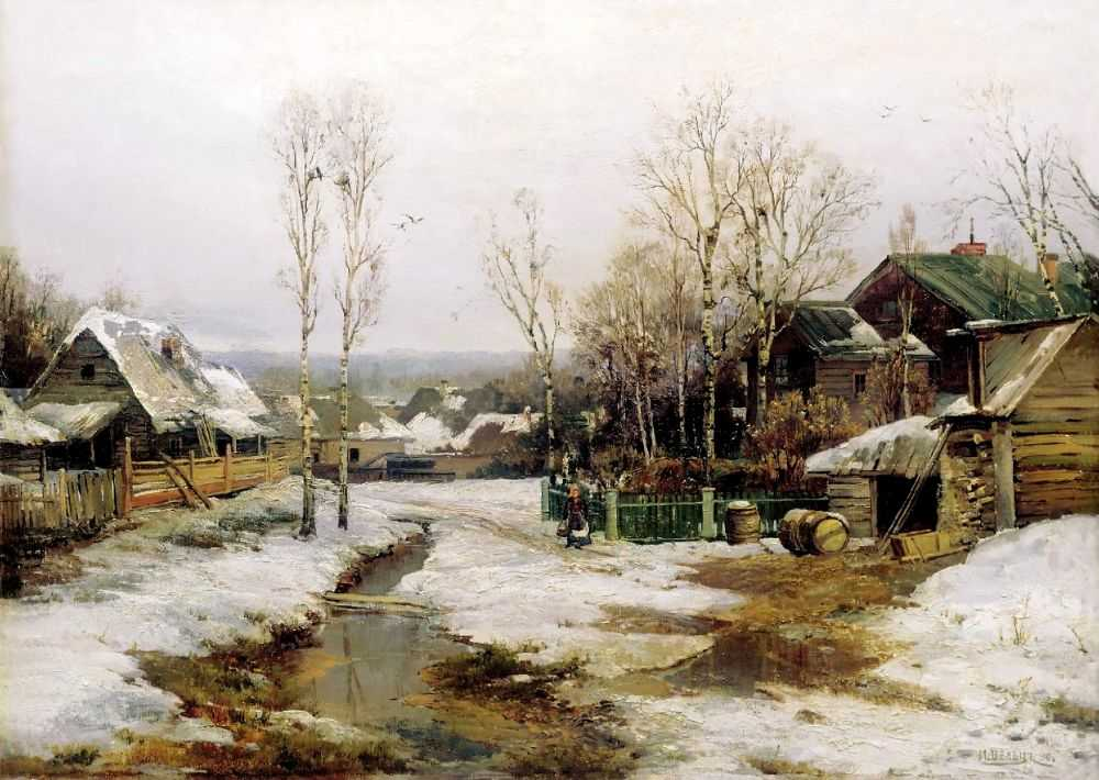 Весной в окрестностях Петербурга — Вельц Иван Августович
