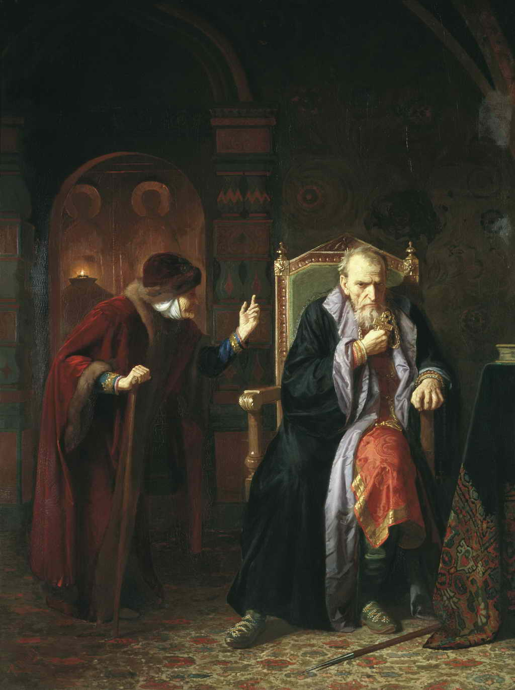Иван Грозный и его мамка — Вениг Карл Богданович