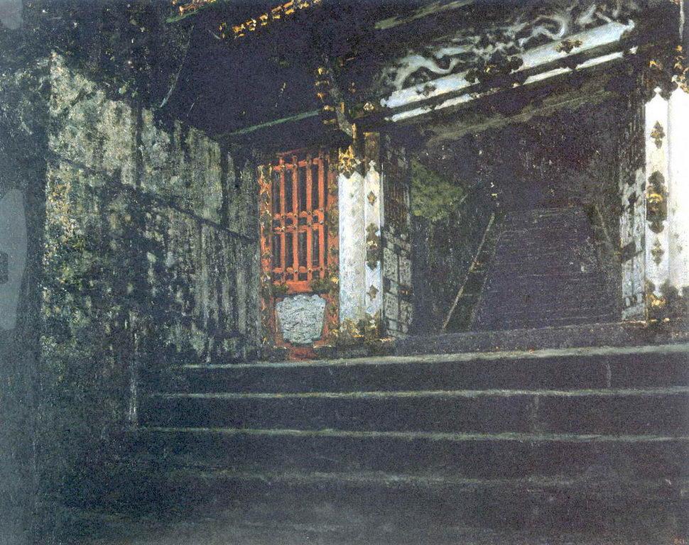 Вход в храм в Никко — Верещагин Василий Васильевич