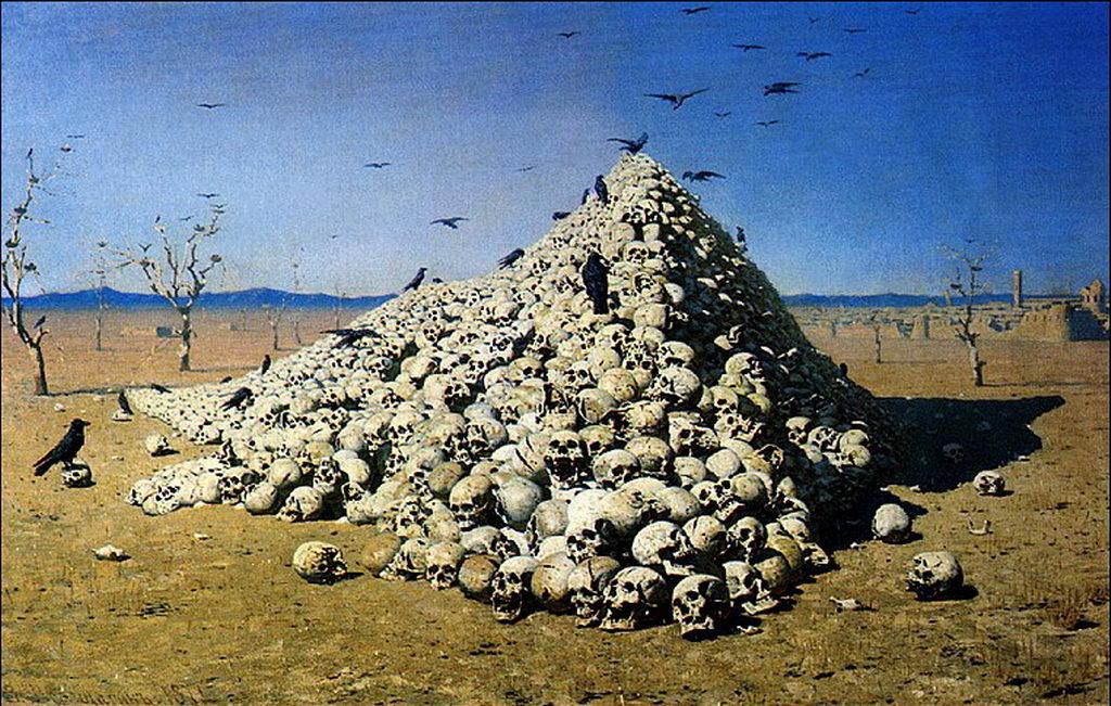 Апофеоз войны — Верещагин Василий Васильевич