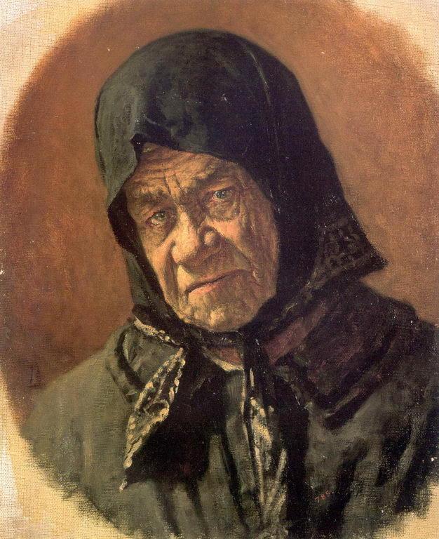 Старуха-нищенка девяноста шести лет — Верещагин Василий Васильевич