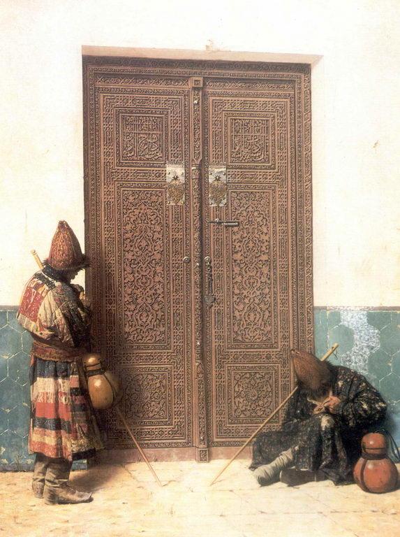 У дверей мечети. — Верещагин Василий Васильевич