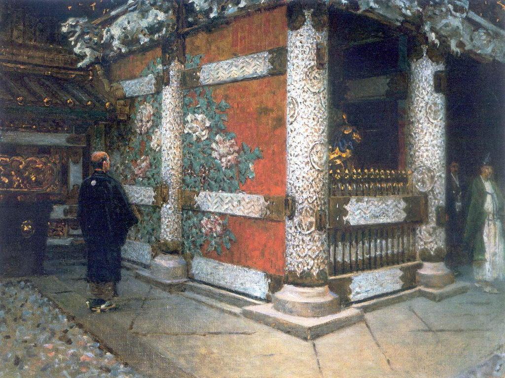 Шинтоистский храм в Никко — Верещагин Василий Васильевич