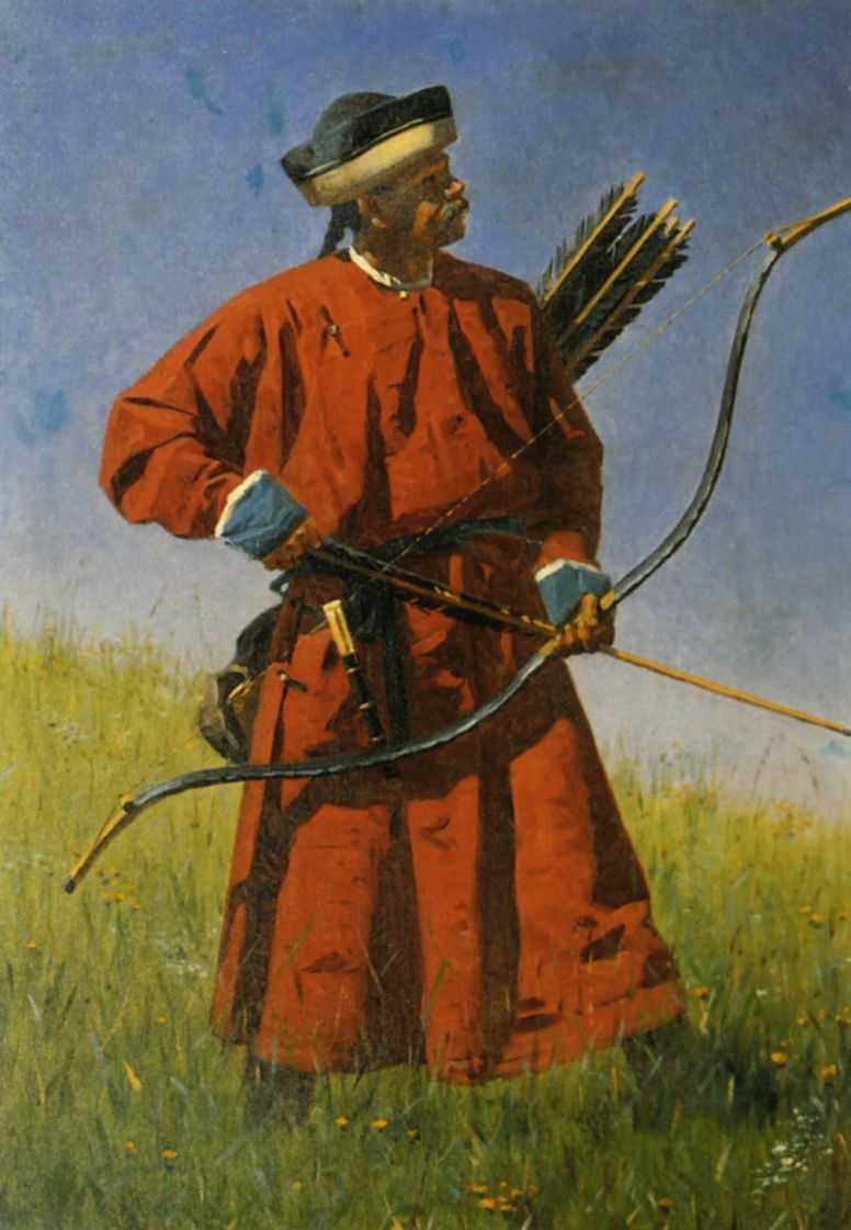 Бухарский солдат (сарбаз). — Верещагин Василий Васильевич
