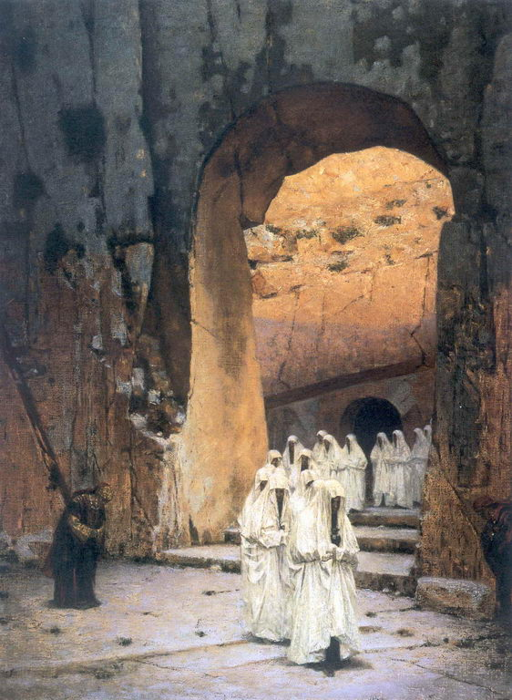 В Иерусалиме. Царские гробницы — Верещагин Василий Васильевич