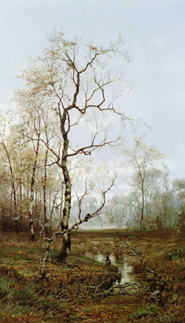 В лесу. По весне — Волков Ефим Ефимович
