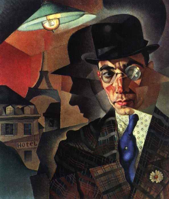 Портрет фотографа-художника М. А. Шерлинга — Анненков Юрий Павлович