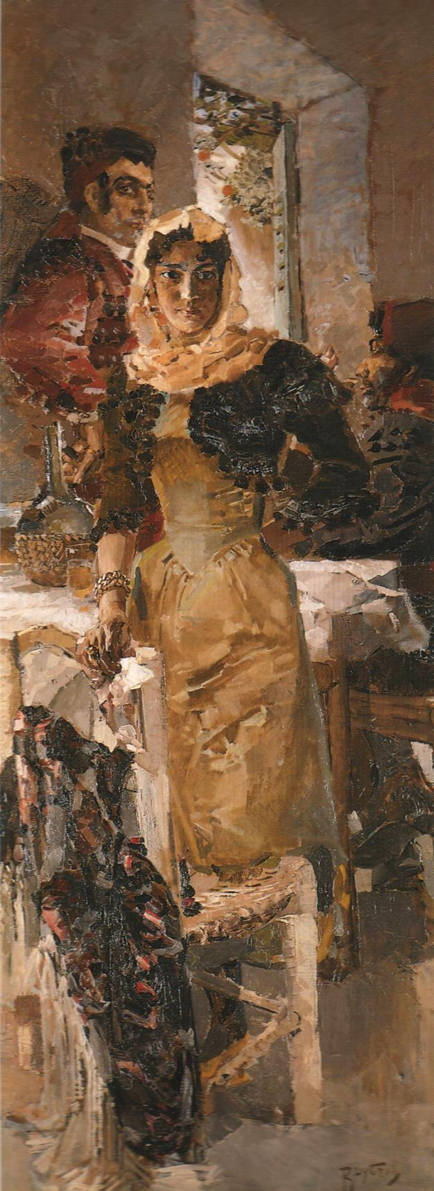 Испания — Врубель Михаил Александрович