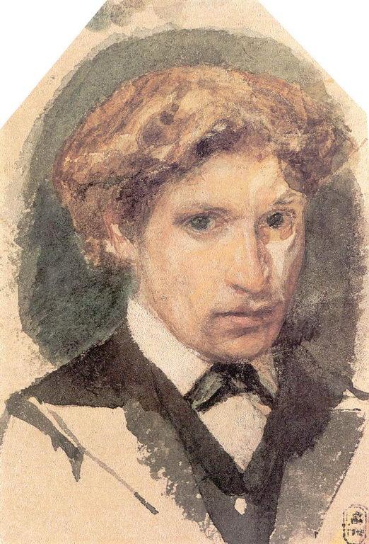 Автопортрет. 1882г. — Врубель Михаил Александрович