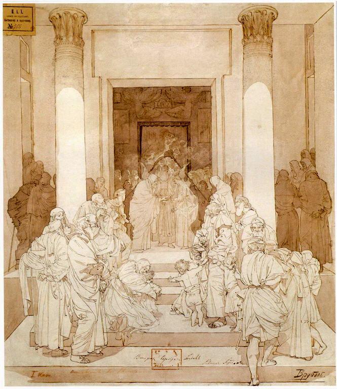 Обручение Марии с Иосифом — Врубель Михаил Александрович