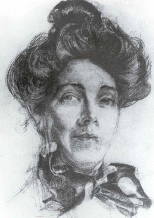 Портрет Н.И.Забелы-Врубель — Врубель Михаил Александрович