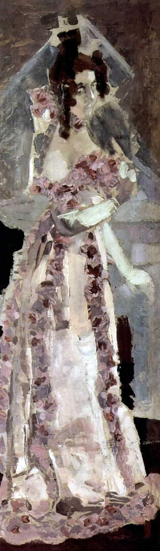 Портрет жены Надежды Ивановны Забелы-Врубель — Врубель Михаил Александрович