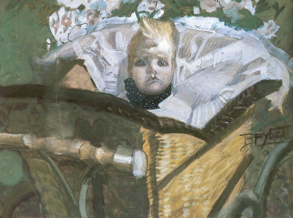 Портрет сына художника — Врубель Михаил Александрович