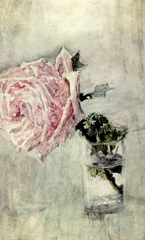 Роза — Врубель Михаил Александрович