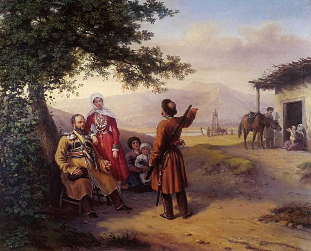 Портрет В.И. и В.А.Арнаутовых — Гагарин Григорий Григорьевич