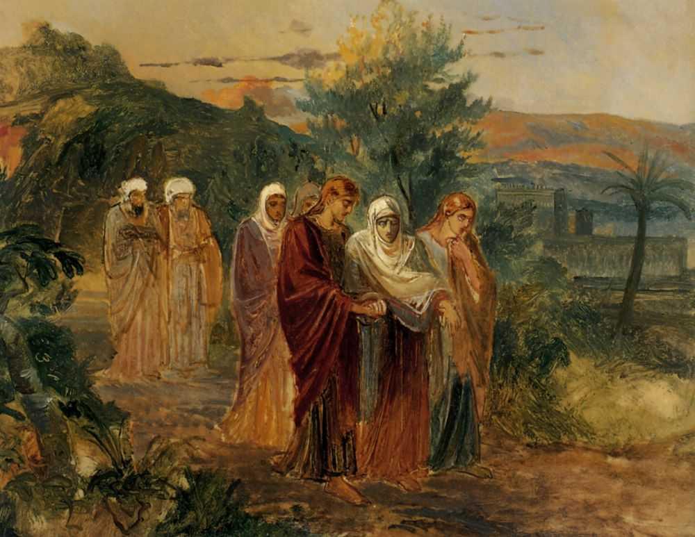 Возвращение с погребения Христа — Ге Николай Николаевич