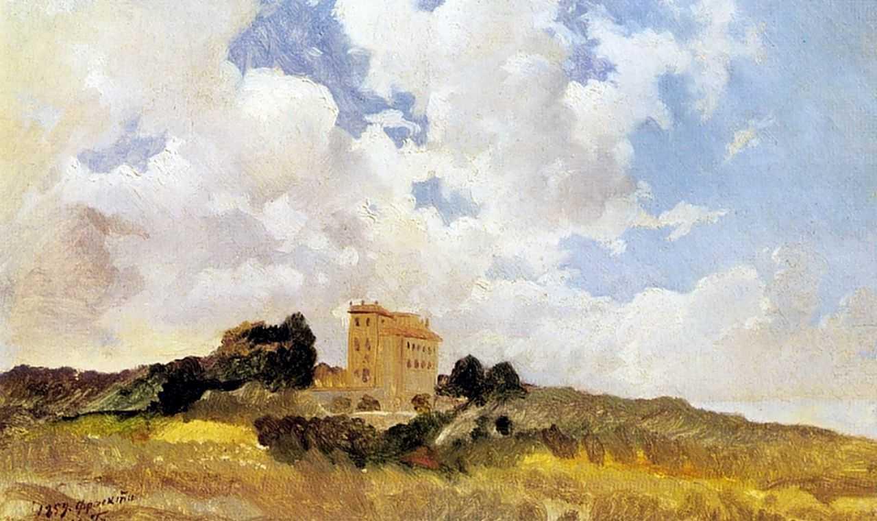 Облака Фраскати — Ге Николай Николаевич