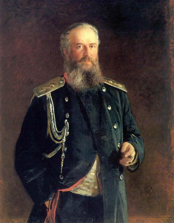 Портрет А.В.Олсуфьева — Ге Николай Николаевич