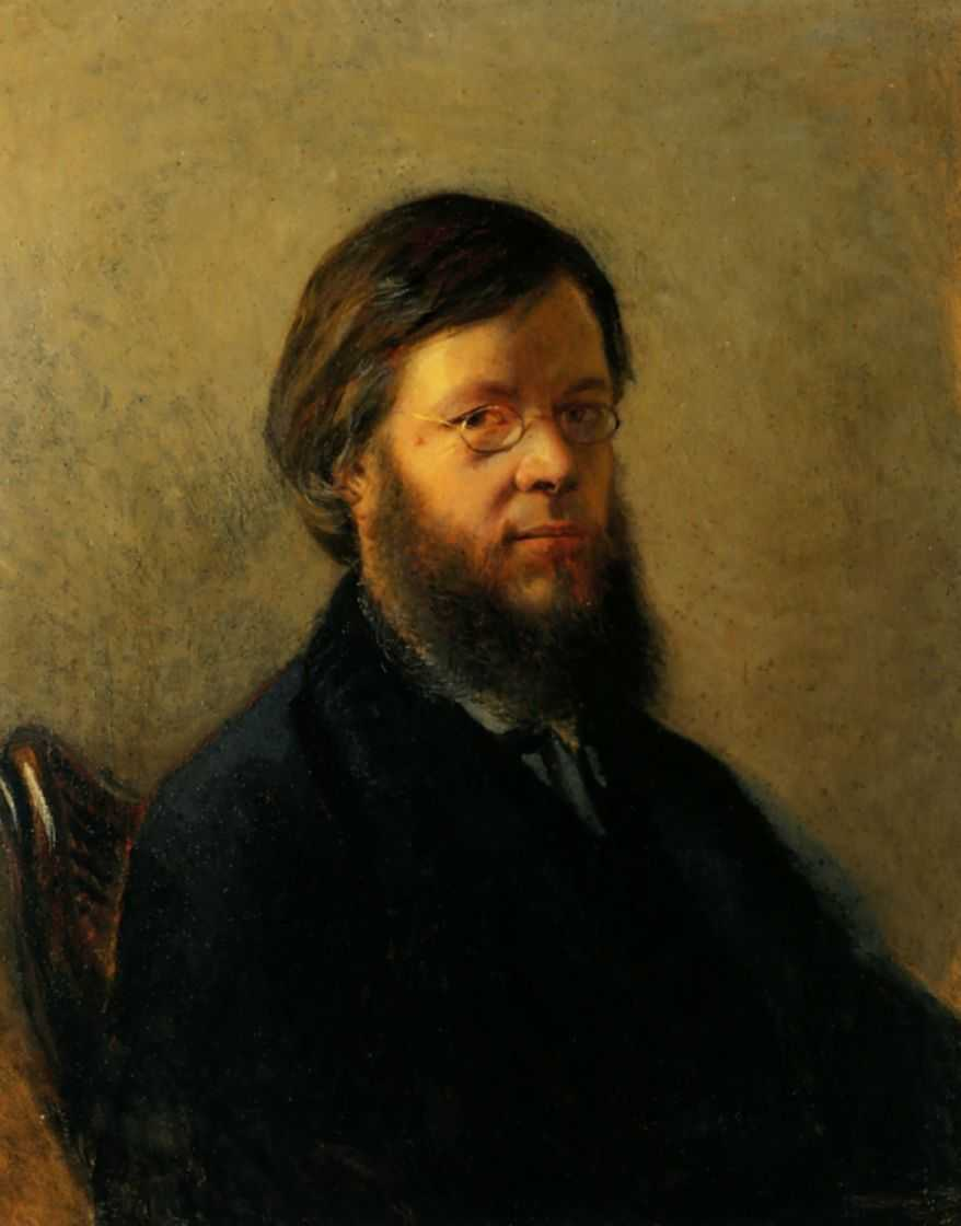 Портрет А.Н.Пыпина — Ге Николай Николаевич