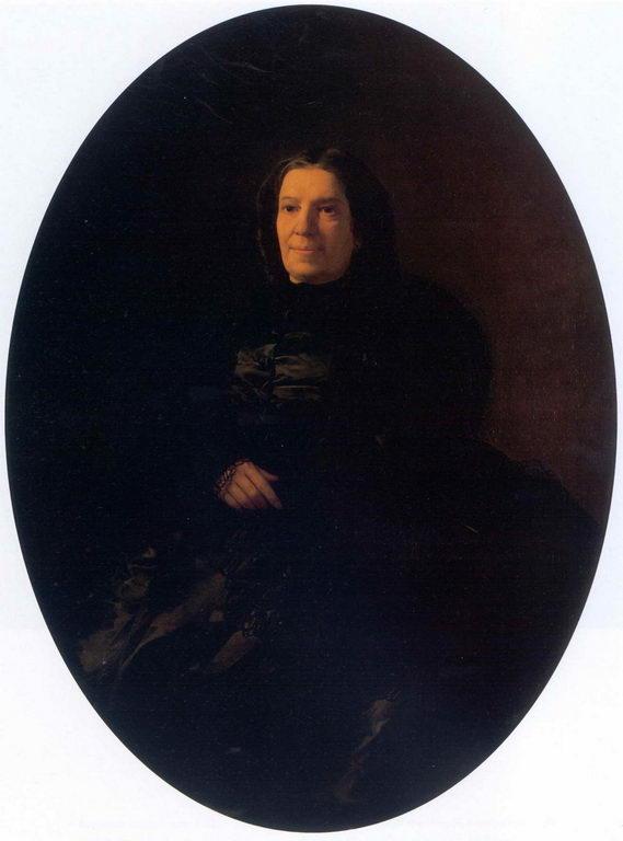 Портрет В.Н.Ростовцевой — Ге Николай Николаевич