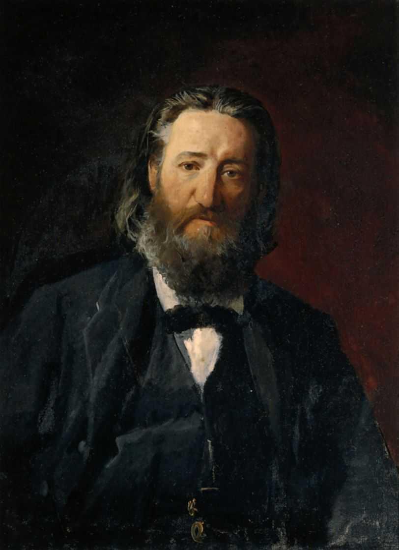 Портрет Иосифа Доманже — Ге Николай Николаевич
