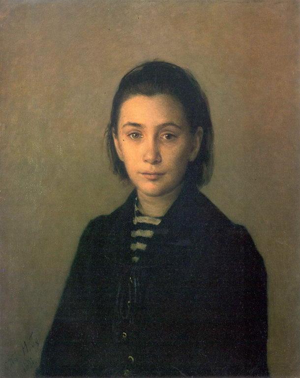 Портрет О.П.Костычевой — Ге Николай Николаевич