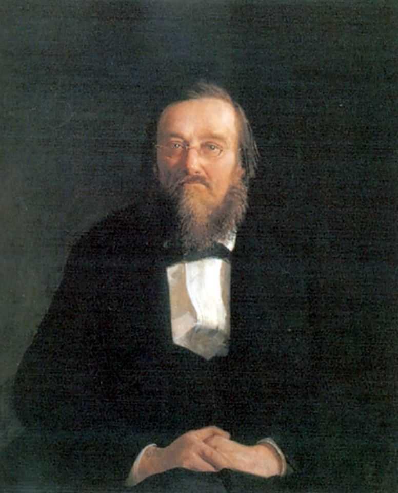 Портрет историка Николая Ивановича Костомарова — Ге Николай Николаевич