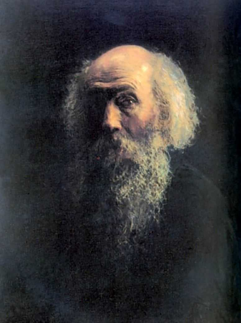 Автопортрет. 1892 — Ге Николай Николаевич