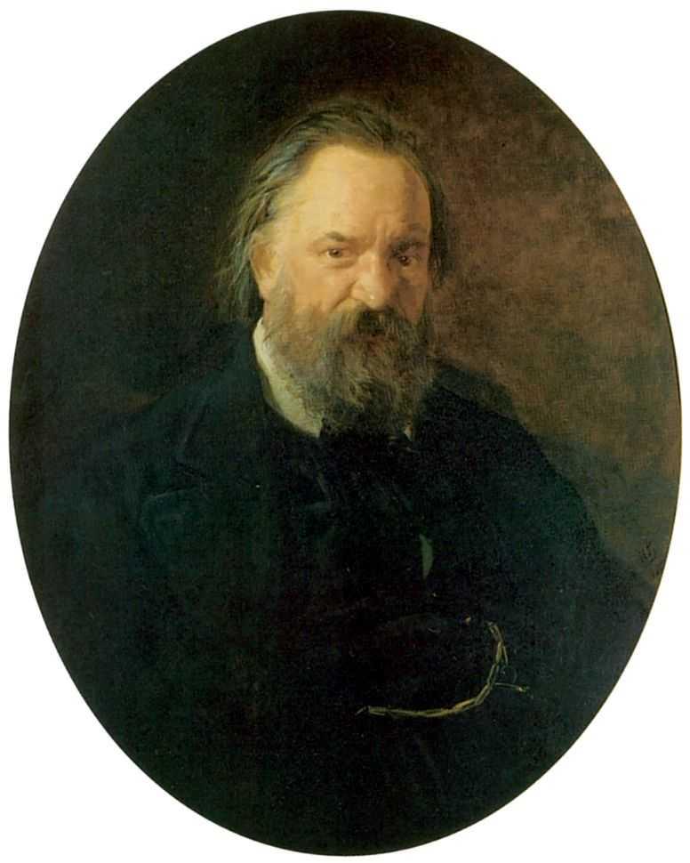 Портрет писателя Александра Ивановича Герцена — Ге Николай Николаевич