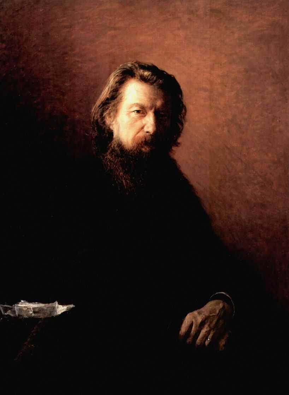 Портрет писателя Алексея Антоновича Потехина — Ге Николай Николаевич