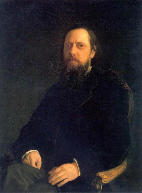 Портрет писателя Е.Салтыкова-Щедрина — Ге Николай Николаевич