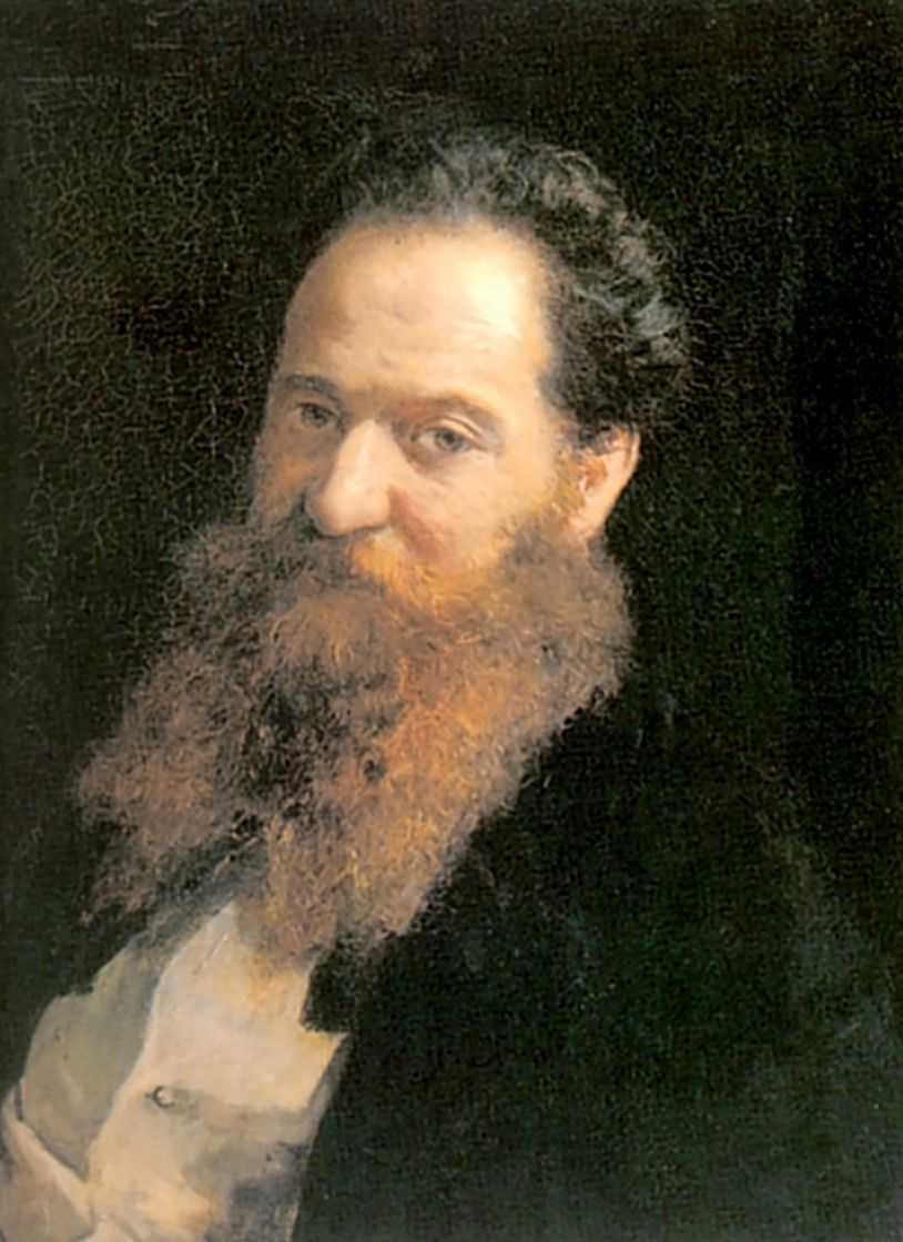 Портрет физиолога доктора Морица Шиффа — Ге Николай Николаевич