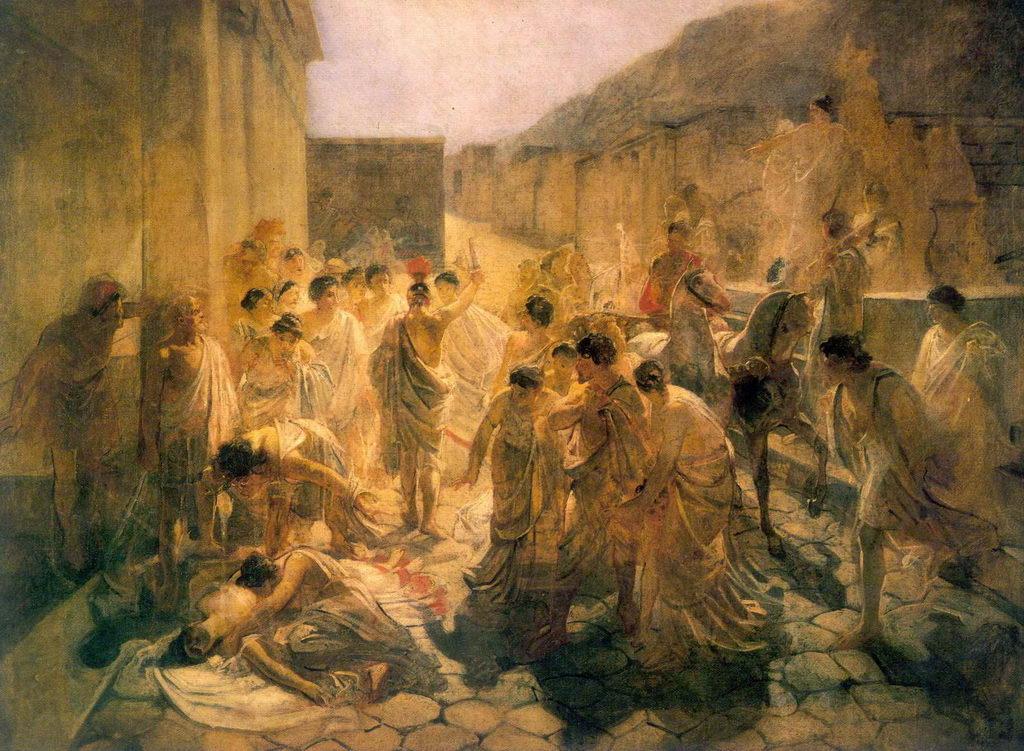 Смерть Виргинии — Ге Николай Николаевич
