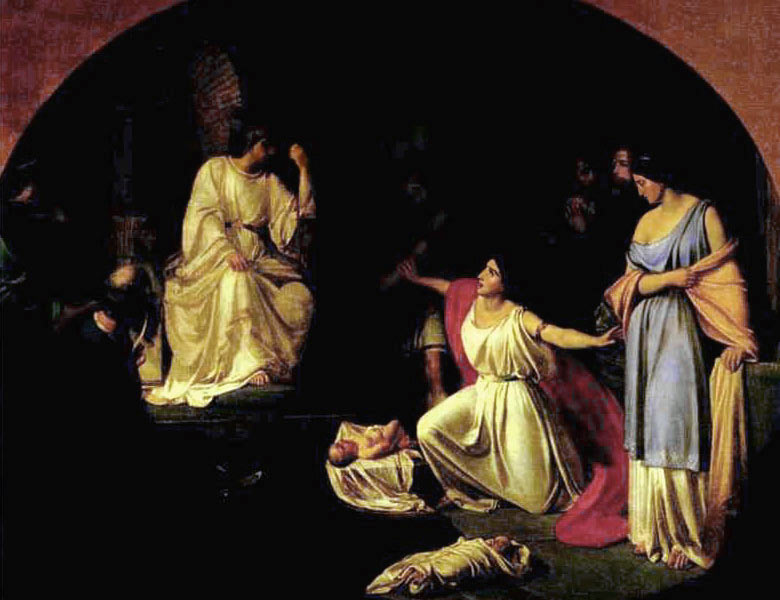 Суд царя Соломона — Ге Николай Николаевич